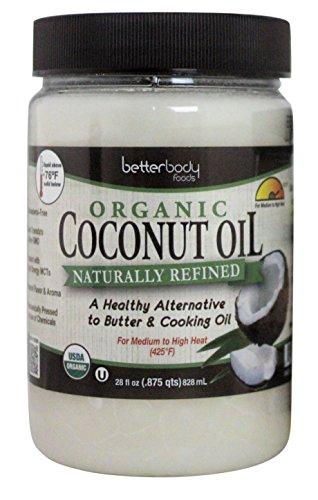 Better Body Foods Organic Coconut Oil -- 28 fl - Store Coconut