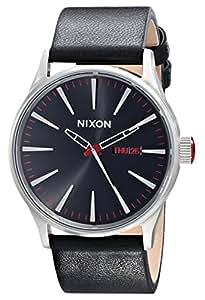 Nixon Men's A105000 Sentry Leather Watch