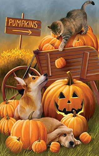 Bombs Away 550 pc Halloween Jigsaw Puzzle -Fall theme- by SunsOut
