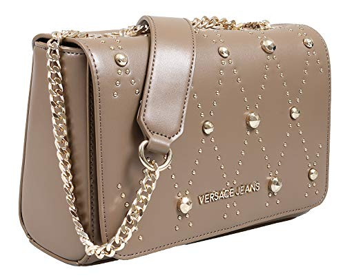0118024259 Versace EE1VSBBEB E148 Taupe Shoulder Bag for Womens for sale Delivered  anywhere in USA