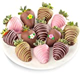 Golden State Fruit 12 Piece Sweet Summer Chocolate Covered Strawberries