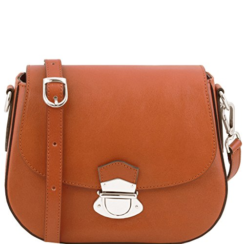 Tuscany Leather TL Neoclassic Leather shoulder bag Honey by Tuscany Leather
