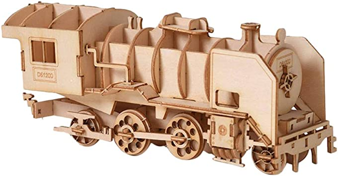 GIFT CHEATWELL BUILD YOUR OWN FLYING SCOTSMAN BUILD-IT 3D PUZZLE MODEL TRAIN