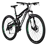 "Diamondback Bicycles Recoil 29er Complete READY RIDE Full Suspension Mountain Bike, 20""/Large Black"