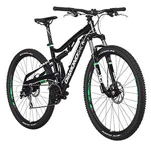 "Diamondback Bicycles Recoil 29er Complete READY RIDE Full Suspension Mountain Bike, 18""/Medium Black"