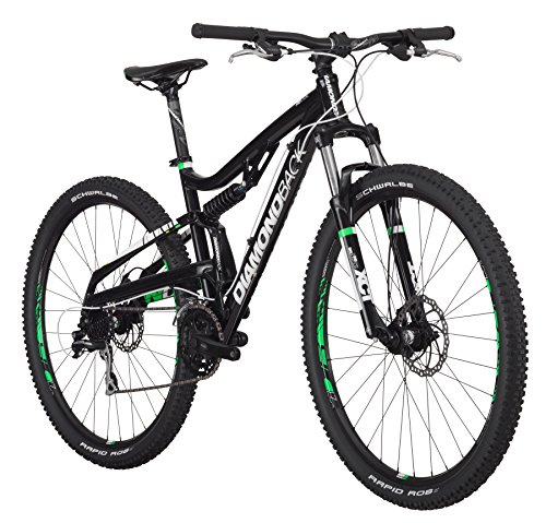 Diamondback Bicycles Recoil 29er Complete READY RIDE Full Suspension Mountain Bike, 18