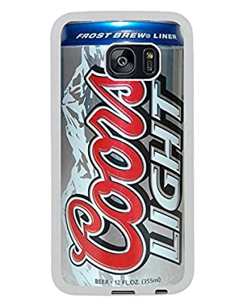 Coors Light Beer Can White Shell Phone Case Fit For Samsung Galaxy S7  Edge,Beautiful