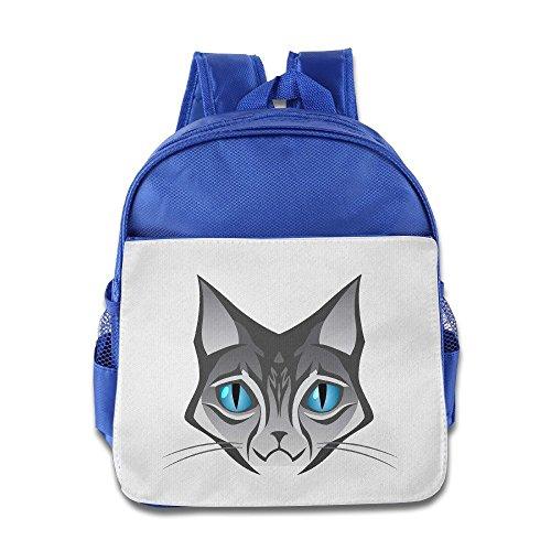 saxon-kids-funny-royalblue-toys-150g-cat-face-logo-bag