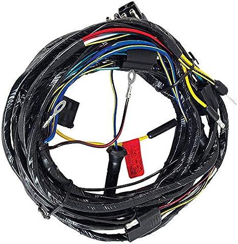[SCHEMATICS_4ER]  Amazon.com: 1966 Mustang Headlight Wiring Harness From Firewall - All:  Automotive | 1966 Mustang Wiring Harness Kit |  | Amazon.com