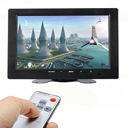 ATian 8-inch TFT LCD 1024x768 High Resolution Color Screen Video Monitor CCTV Monitor Security Monitor with Remote Control & VGA/BNC/AV/HDMI Input for PC & Cameras & Home Security, etc.