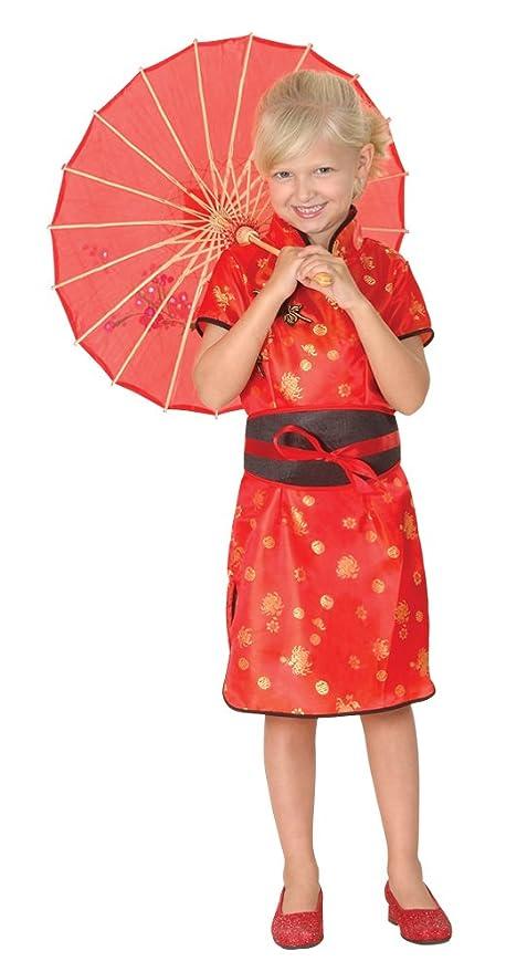 Bristol Novelty Traje Niña China,Mediano Edad aprox 5-7 años