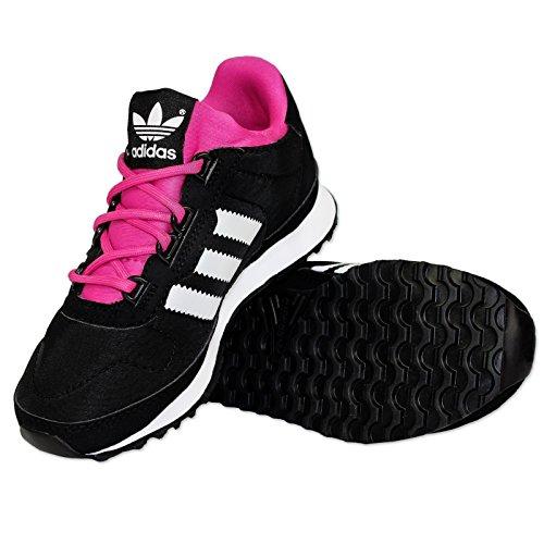 adidas Originals ZX 700Primaloft K Niños Zapatillas Turn Guantes Negro Rosa 28 negro / rosa