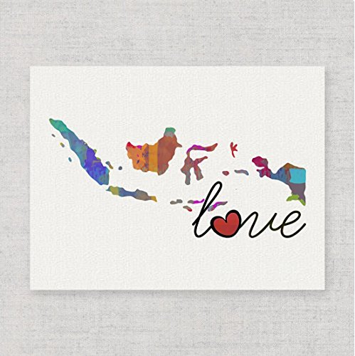 indonesia-love-modern-whimsical-watercolor-style-wall-art-print-poster-on-fine-art-paper-a-thoughtfu