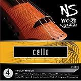D'Addario NS Electric Cello String Set, 4/4 Scale, Medium Tension