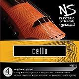 D\'Addario NS Electric Cello String Set, 4/4 Scale, Medium Tension
