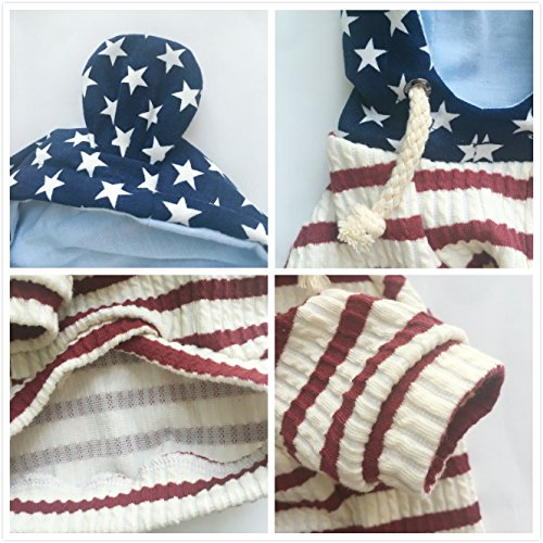 Pictures of EastCities Pet Clothes Dog HoodiesSmall Dogs CatRed 4