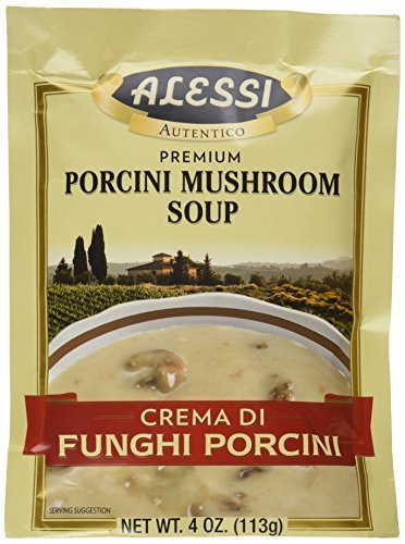 Price comparison product image Alessi Porcini Mushroom Soup Mix,  4 Ounce (Pack of 6)