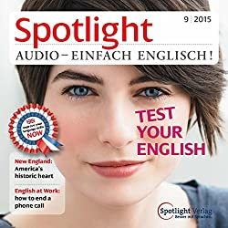 Spotlight Audio - Test your English 9/2015