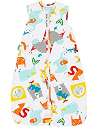 Travel Baby Sleeping Bag - E is for Elephant 1.0 Tog (18-36 Months)