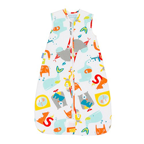 Grobag Travel Baby Sleeping Bag - E is for Elephant 2.5 Tog (18-36 Months) by grobag