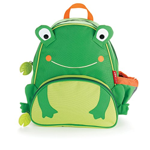 Price comparison product image Skip Hop Zoo Toddler Kids Insulated Backpack Floyd Frog Boy,  12-inches,  Green