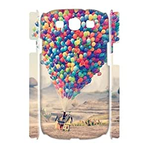 ALICASE Cover Case Balloon 3D Diy For Samsung Galaxy S3 I9300 [Pattern-1]