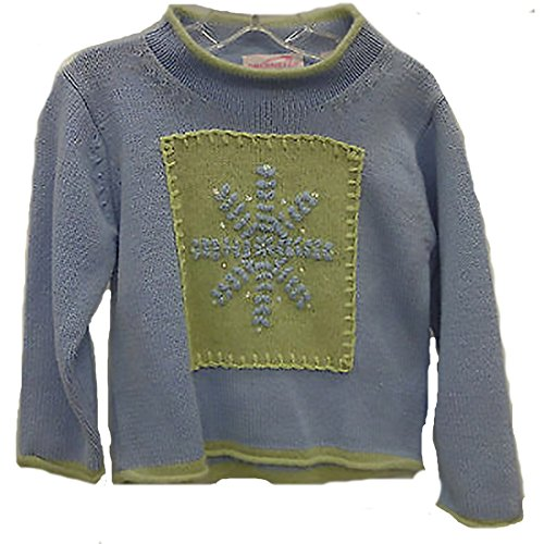 - Obermeyer Youth Fuzzy Sweater Size Small Blue