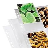Hama 00009777 Feuillets-pochettes transparents Format A4 10 x 15 cm