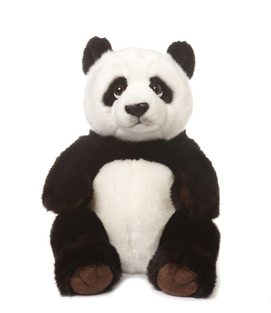 Wwf - 15183001 - Peluche - Panda Assis - 32 cm