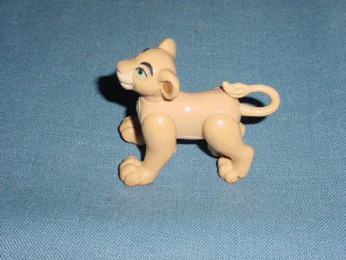 Burger King Jointed Lion King Fast Food Toy (King Foods Burger)