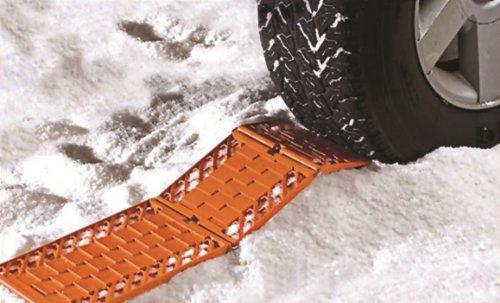 Fahrzeug Escaper Strecken mit viel Haftung, Grip Leitern Schnee Schlamm Sand (Paar)
