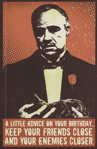 Amazon Greeting Cards Birthday The Godfather A Little Advice