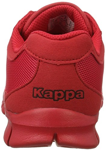 Kappa Rocket - Tobillo bajo Unisex adulto Rojo (2020 Red)