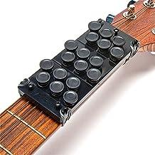Ez-Fret Beginner Guitar Attachment, Eliminates Finger Pain, 110 Chords Available, Fits Full Sized Acoustic Guitar, L/H OK