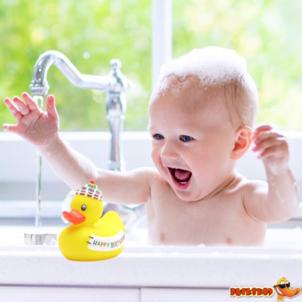 Canard de bain Happy Birthday 8 cm