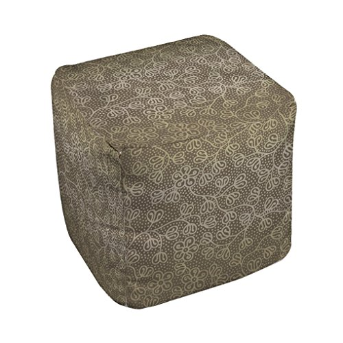 Thumbprintz Deer Elegance Filigree Pouf Medium 18 x 18