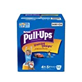 Huggies Pull-Ups Learning Designs Training Pants for Boys, Giga Pack, Size 4T-5T, 52 Count