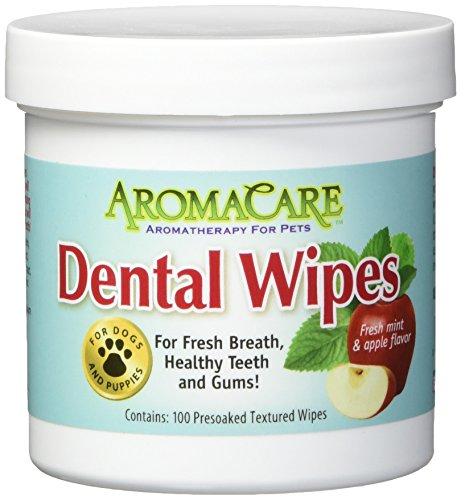 (PPP Pet Aroma Care 100 Count Dental Wipes)