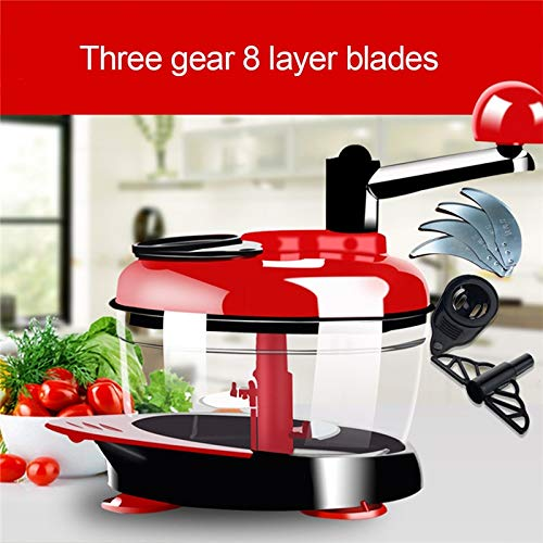 TTLIFE 2018 Multi-Function Kitchen Manual Meat Grinder Vegetable Chopper Quick Shredder Cutter Egg Blender Kitchen Accessories   Russian Federation