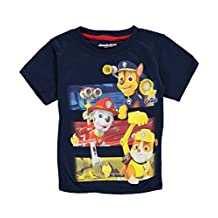 "Paw Patrol Little Boys' Toddler ""Rescue Trio"" T-Shirt"
