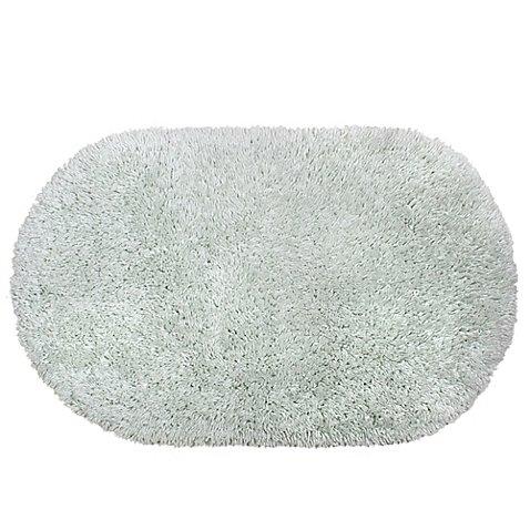 - Juliet 21-Inch x 34-Inch Shag Bath Rug (MINT)