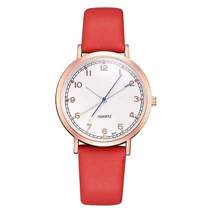 Weiwei Relojes Grandes para Las Mujeres Que Reloj de Cuarzo de los Relojes de Hora Hombre