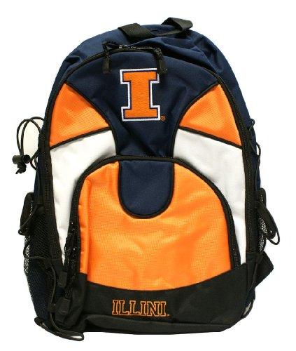 Illinois Fighting Illini Backpack (Illinois Fighting Illini Backpack)