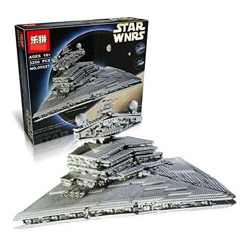 Star Wars Super Imperial Star Destroyer LEGO Compatible Building Block Model Set (3803 pieces)