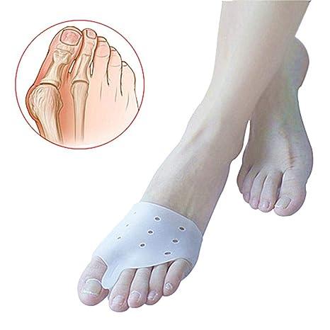 Biback 1 par de Protectores correctores de Dedos de Gel para juanetes y Dedos de los ...
