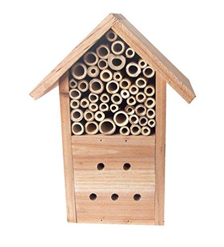 Tierra Garden 14-1757 Wooden Chalet Bee and Ladybug House