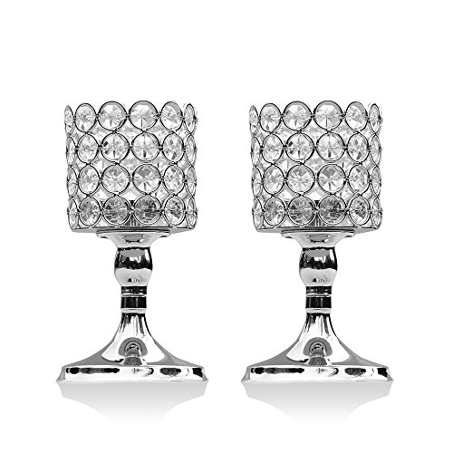 Crystal Beaded Led Light Floral Bouquet in US - 3