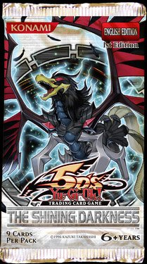 Konami YuGiOh 5D's Shining Darkness Booster Pack