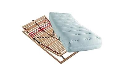 Conjunto compuesto de: ventilador. Comfort plus KS 7-zonas colchón de espuma fría en 100 x ...