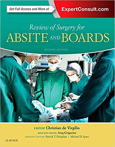 Absite Surgery Review Pdf